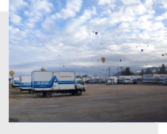 Moving Company  trucks