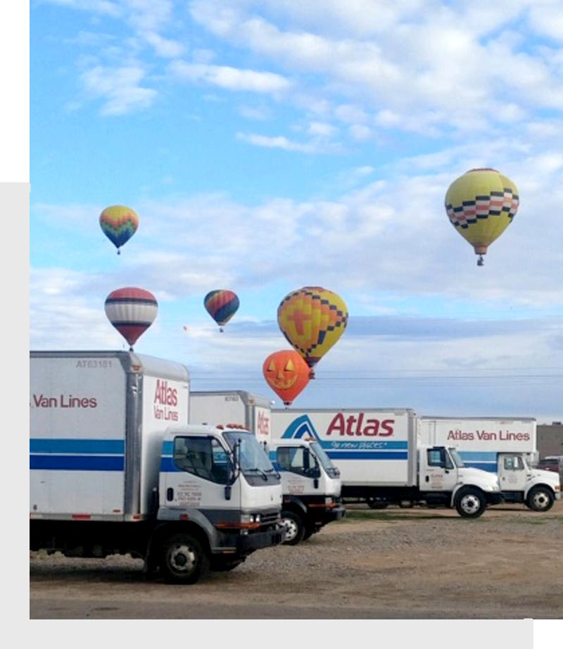 parked transportation trucks