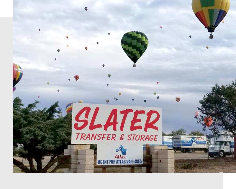 Slater Sign board