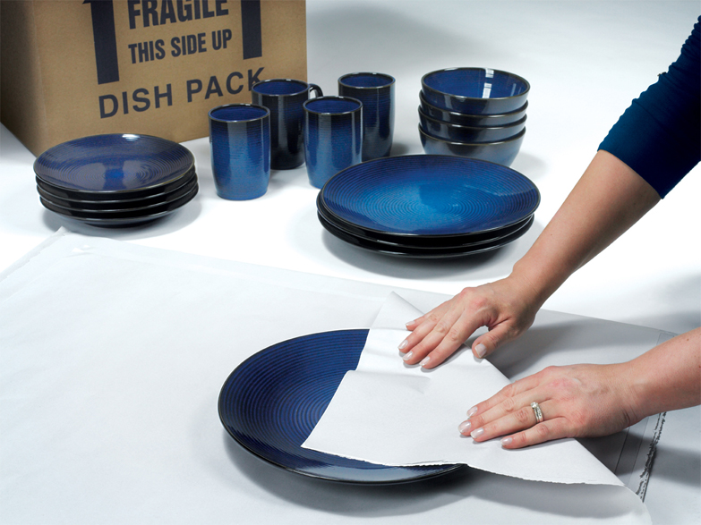 Packing Dishware
