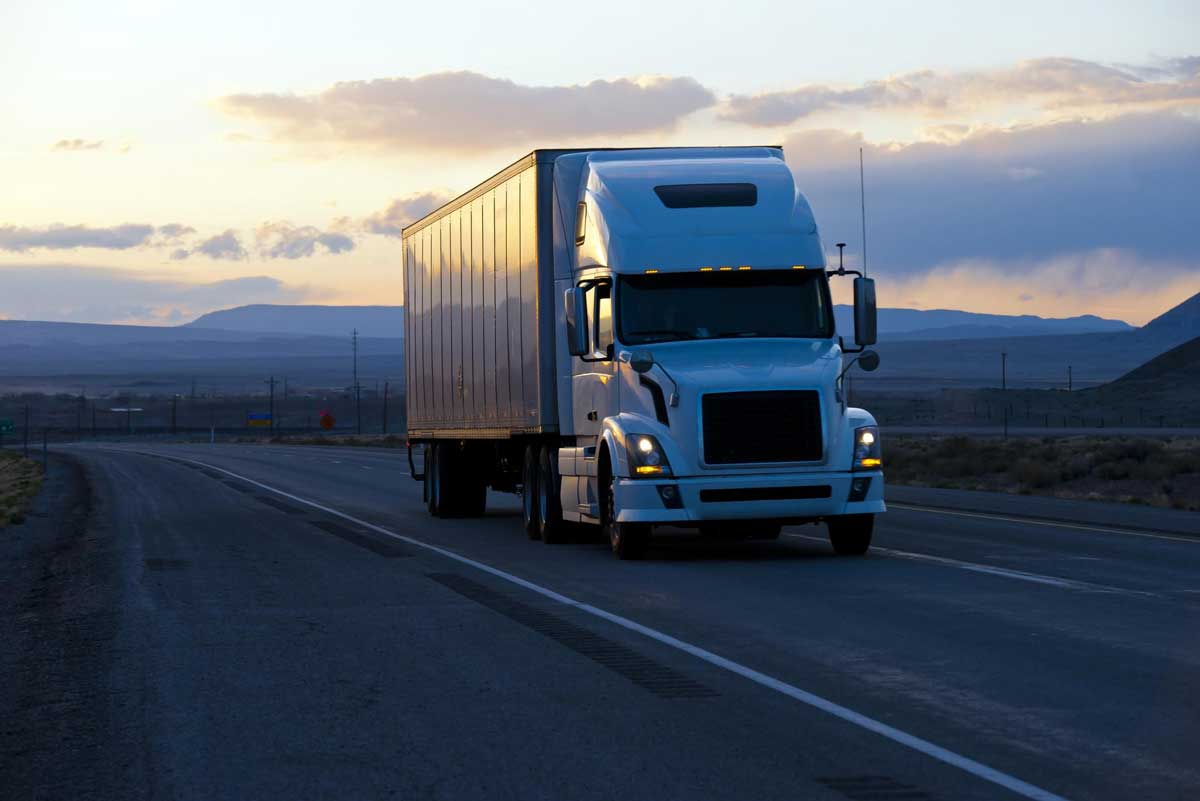 Packers and movers truck